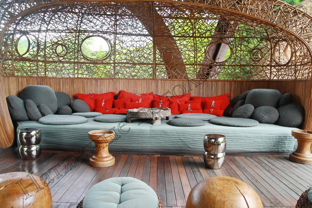 Дизайн интерьера веранды
